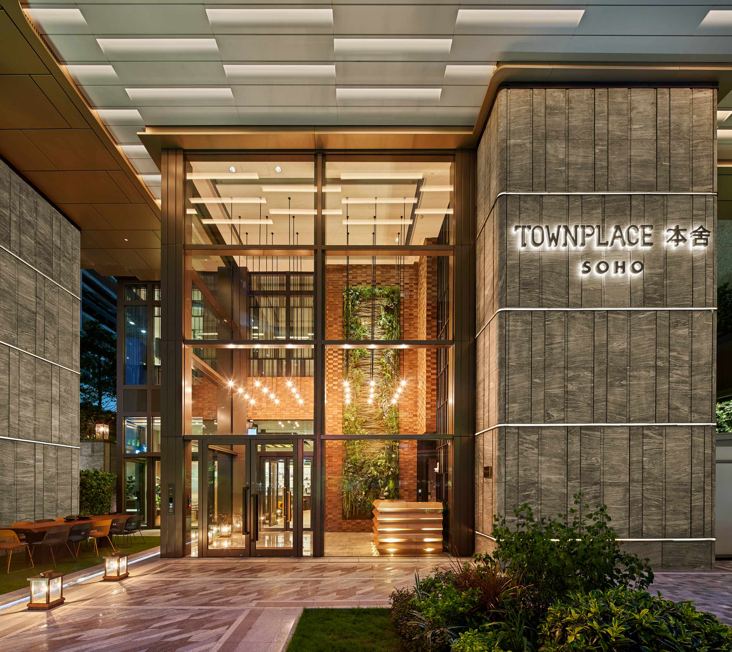 Townplace-Residential-Tower-entrance